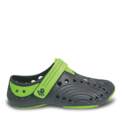 Girls' Premium Spirit Shoes - Navy with Lime Green
