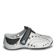 Girls' Premium Spirit Shoes - White with Navy