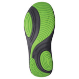 Men's Premium Spirit Shoes - Navy with Lime Green