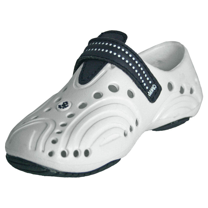 Men's Premium Spirit Shoes - White with Navy