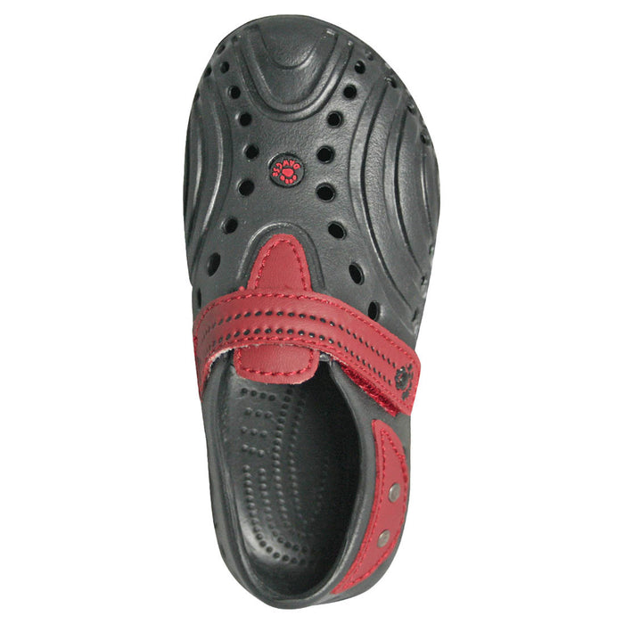 Toddlers' Premium Spirit Shoes - Black with Red