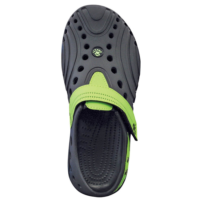 Women's Premium Spirit Shoes - Black with Lime Green