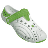 Women's Premium Spirit Shoes - White with Lime Green (Special Offer)
