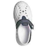 Women's Premium Spirit Shoes - White with Navy