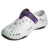 Women's Premium Spirit Shoes - White with Plum