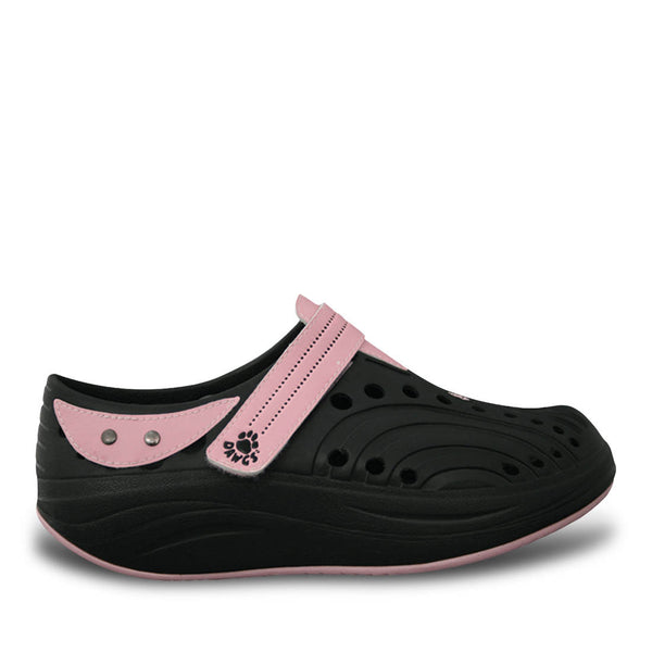 Women's Spirit Walkers - Black with Soft Pink