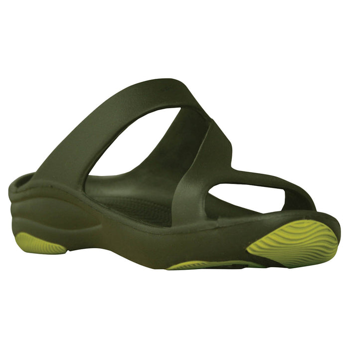 Women's Premium Z Sandals - Olive with Sage Green