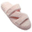 Women's Fluffy Z Slippers - Soft Pink