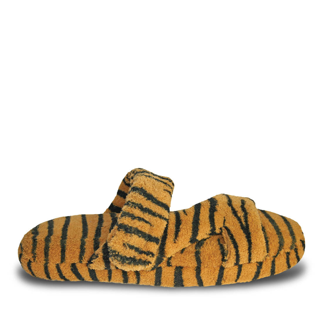 Image of Women's Fluffy Z Slippers - Tiger