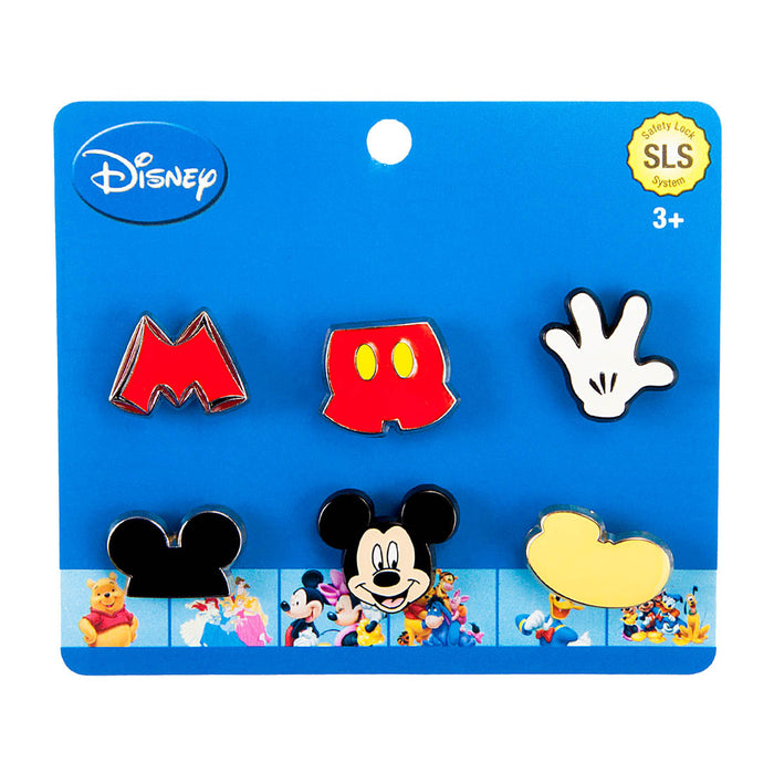 Disney Dawg Tag Shoe Charm Starter Pack - Mickey (P6054)