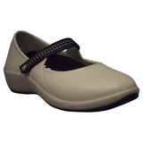Women's Mary Jane Pro Work Shoes - Tan with Black