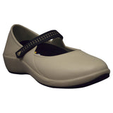 Women's Mary Jane Pro Work Shoes - Tan with Black (Special Offer)