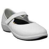 Women's Mary Jane Pro Work Shoes - White with Black (Special Offer)