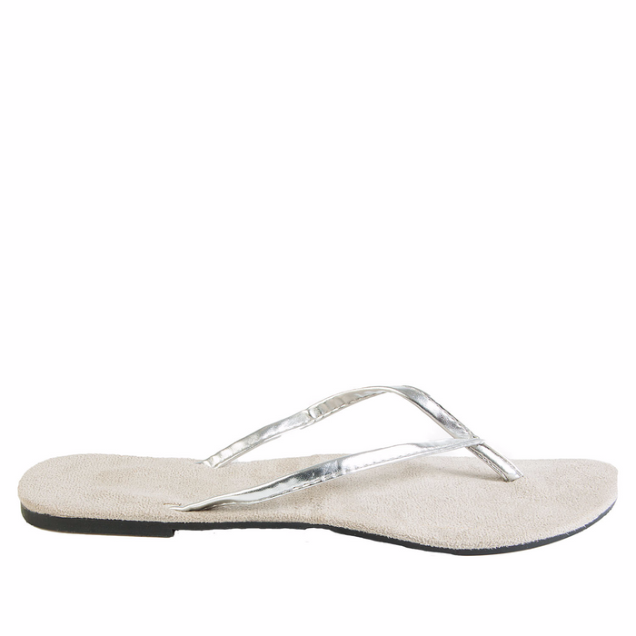 932047803 Hounds Women s Bendable Flip Flops - Silver — USA DAWGS