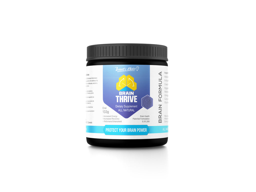 Brain THRIVE - Chocolate Cherry - Protect your Brain Power - $63.99 each