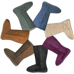 13-inch Microfiber Boots