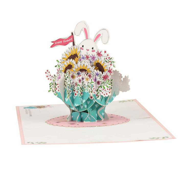 Flower cup Bunny