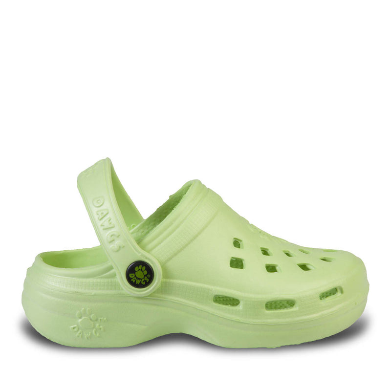 Kids' Beach Dawgs - Lime Green