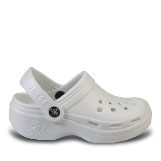 Toddlers' Beach Dawgs - White