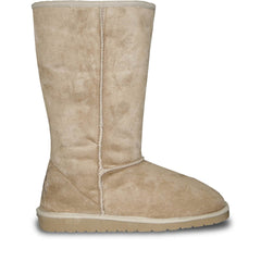 Women's 13-inch Microfiber Boots - Natural