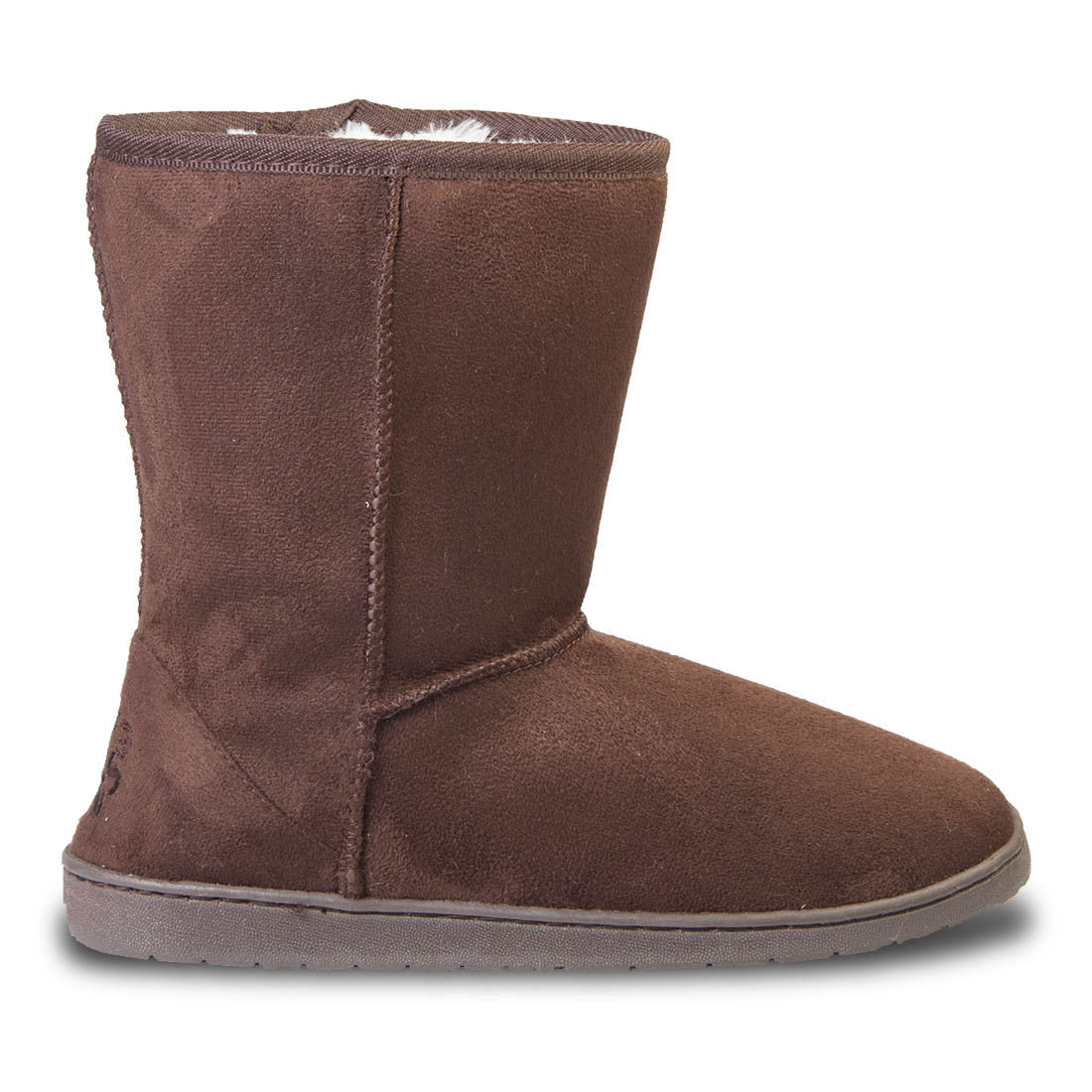 Women's 9-inch Microfiber Boots - Chocolate