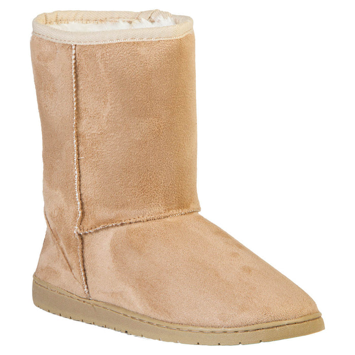 Women's 9-inch Microfiber Boots - Natural