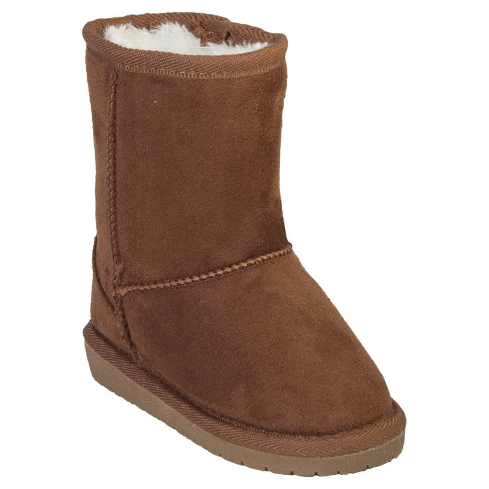 Girls' Microfiber Sheep Dawgs - Chestnut