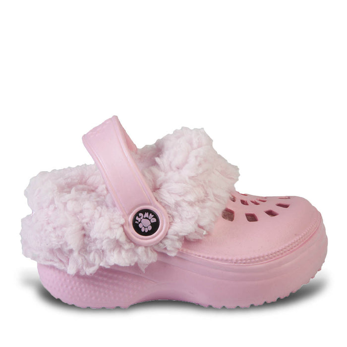 Toddlers' Fleece Dawgs - Soft Pink with Pink