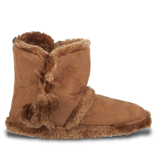 Hounds Women's Microfiber Booties - Light Brown