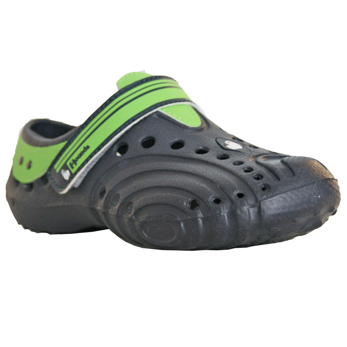 Hounds Kids' Ultralite Shoes - Navy with Lime Green