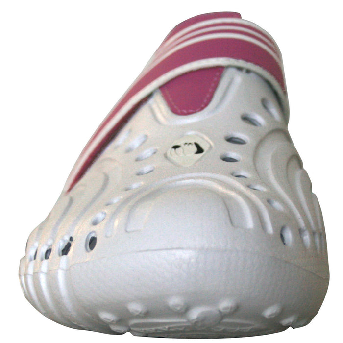 Hounds Women's Ultralite Shoes - White with Hot Pink