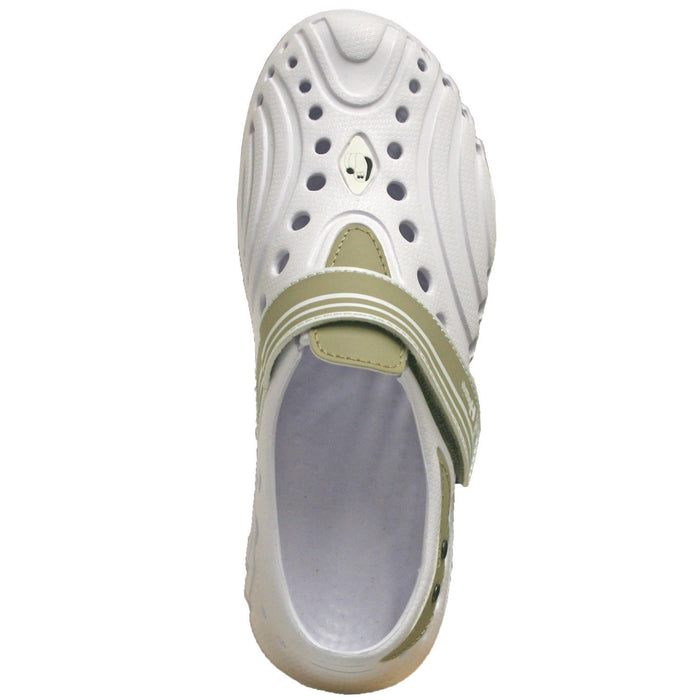 Hounds Women's Ultralite Shoes - White with Tan