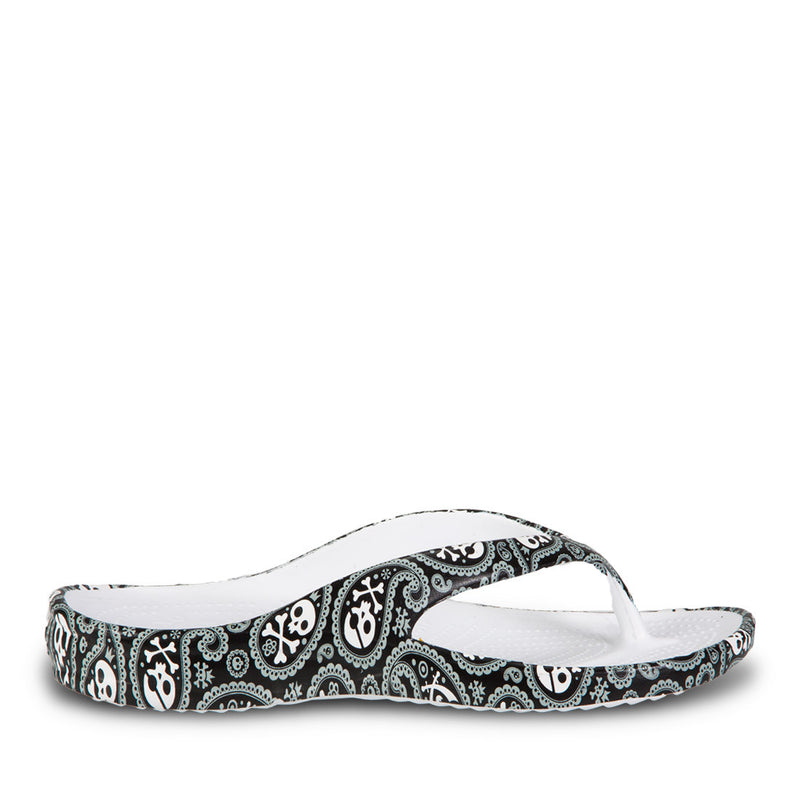 Women's Loudmouth Flip Flops - Shiver Me Timbers