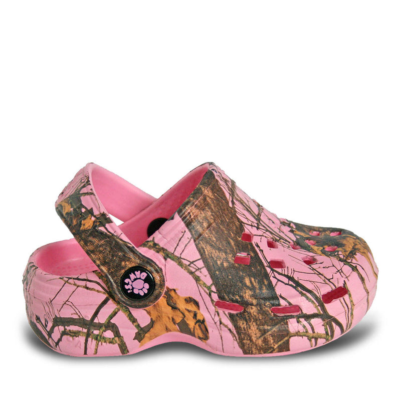 Kids' Mossy Oak Beach Dawgs - Pink Breakup Infinity