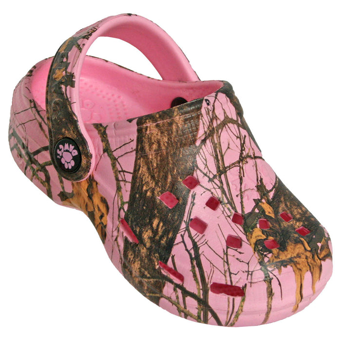 Toddlers' Mossy Oak Baby Beach Dawgs - Pink Breakup Infinity