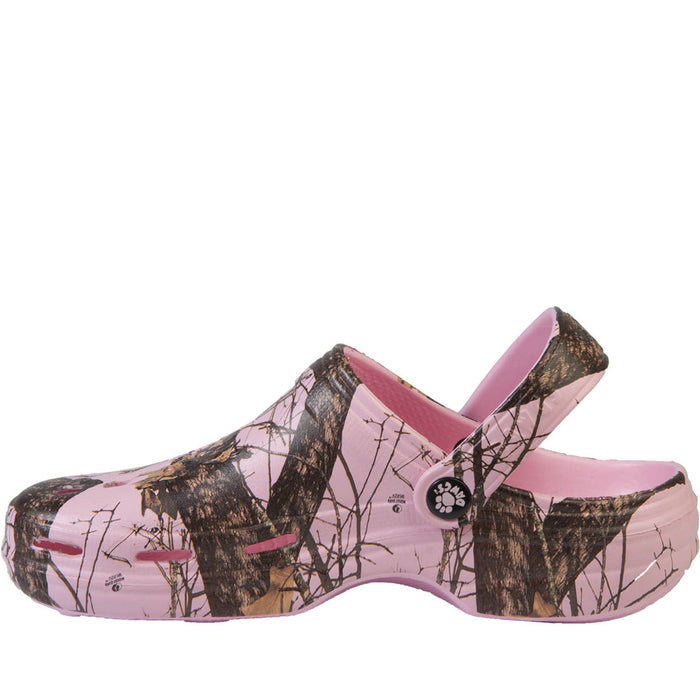 Women's Mossy Oak Beach Dawgs - Pink Breakup Infinity