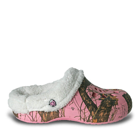 Women's Mossy Oak Fleece Dawgs - Pink Breakup Infinity