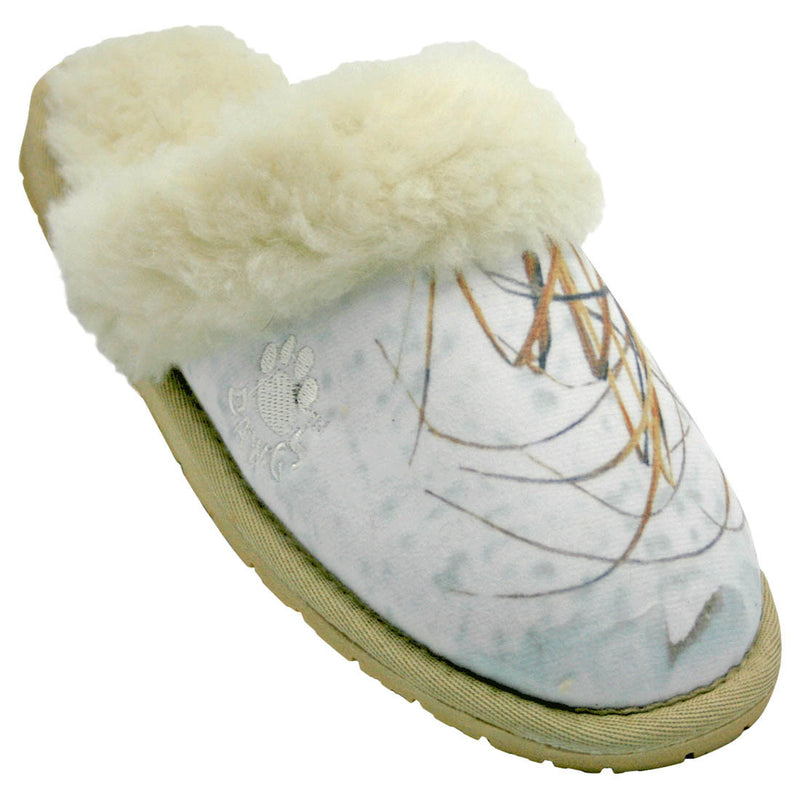 Women's Mossy Oak Scuffs - Winter Brush