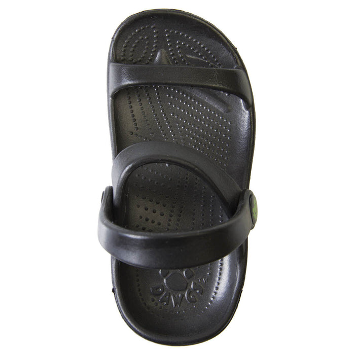 Toddlers' 3-Strap Sandals - Black