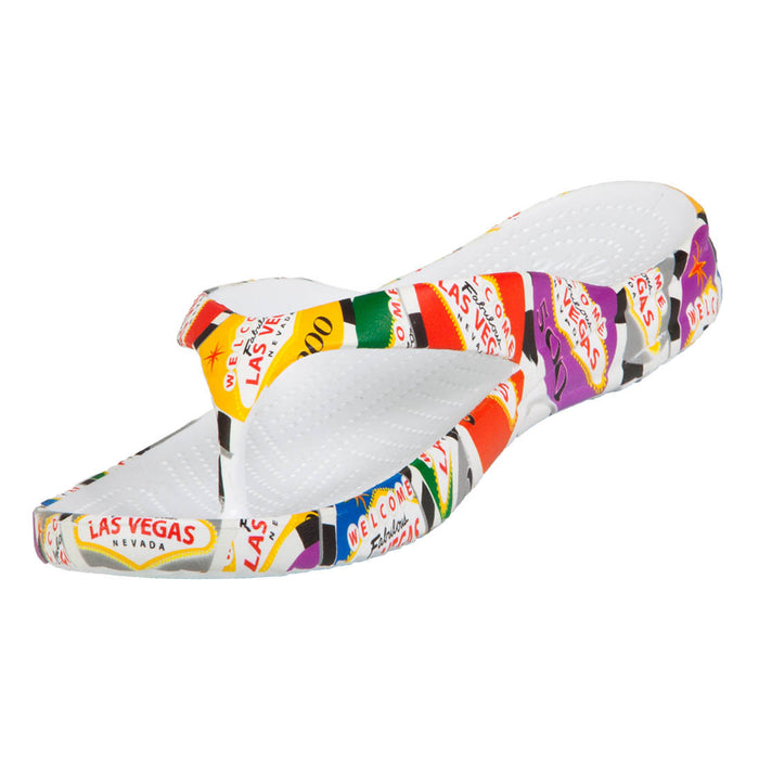 Men's Flip Flops - Poker Chips