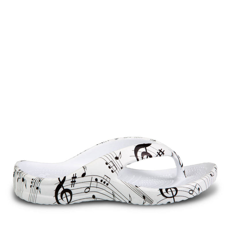 Kids' Flip Flops - Musical Notes