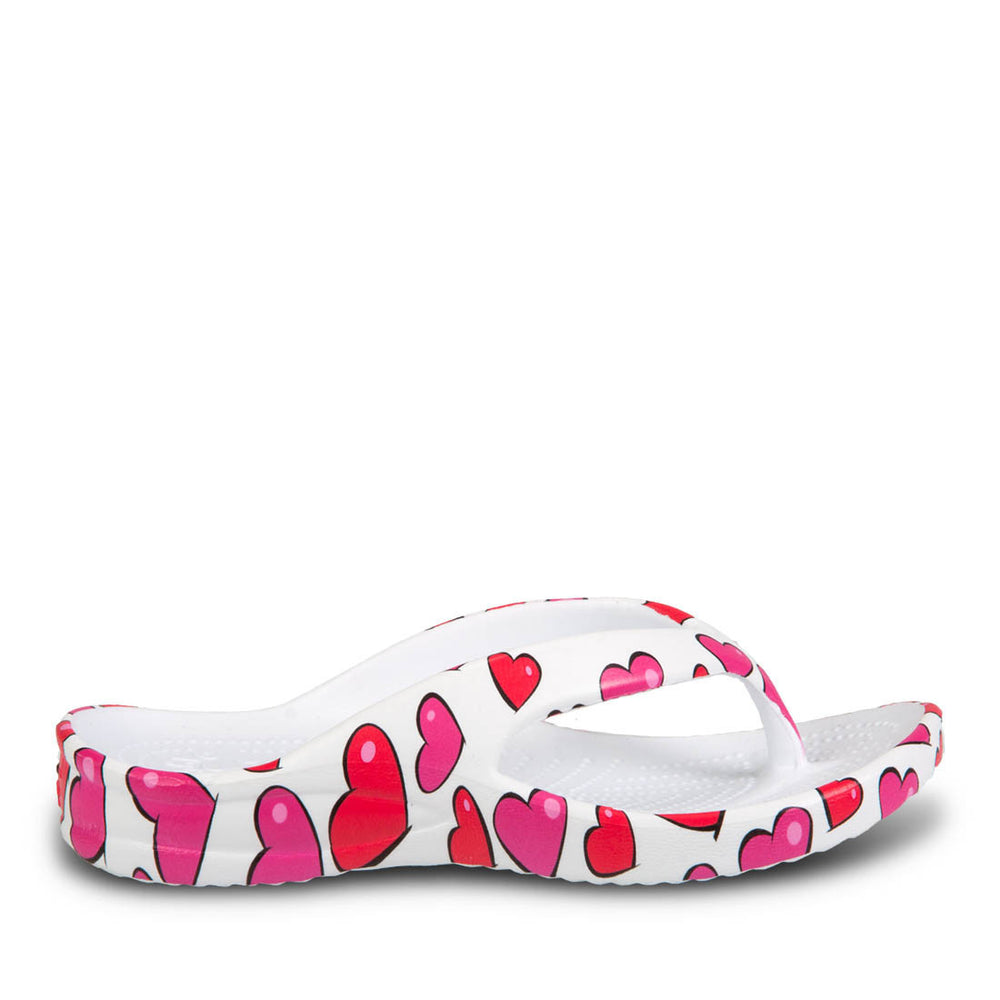 Toddlers' Flip Flops - Hearts