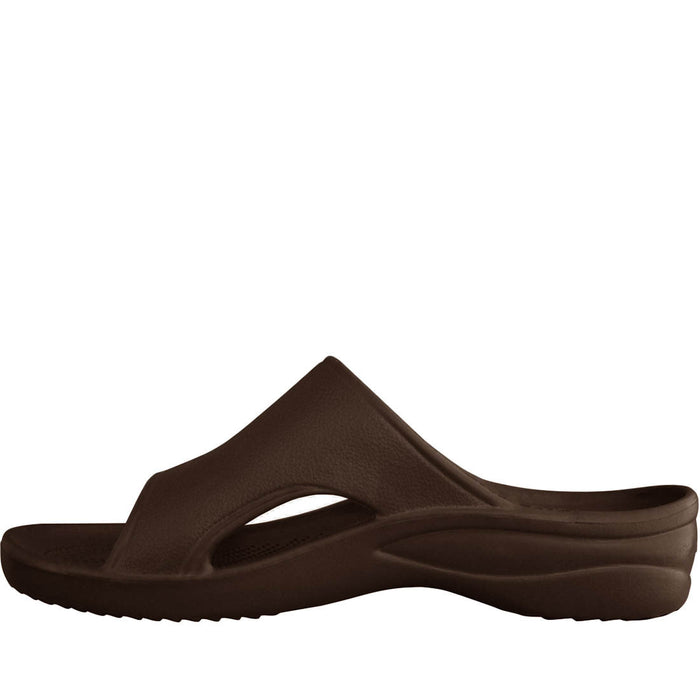 5b94a263d2b8 Dawgs Women s Slides - Dark Brown — CANADA DAWGS