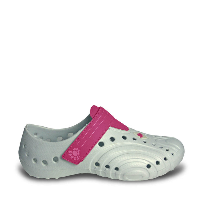 Women's Ultralite Spirit Shoes - White with Hot Pink