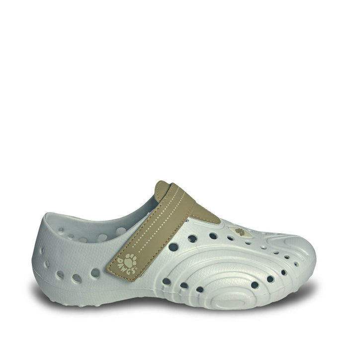 Women's Ultralite Spirit Shoes - White with Tan