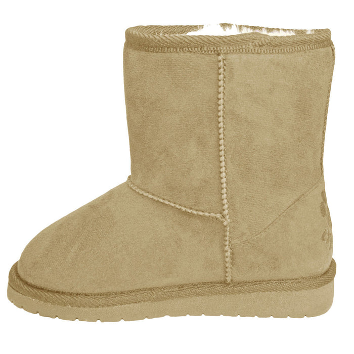 Girls' Microfiber Sheep Dawgs - Natural
