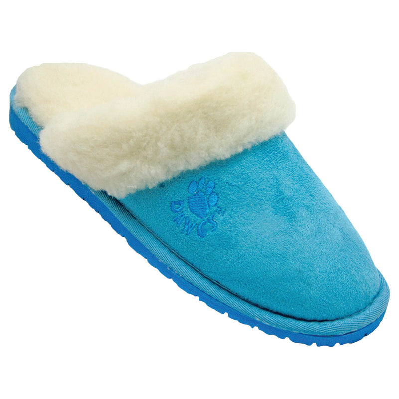 Women's Microfiber Scuffs - Blue