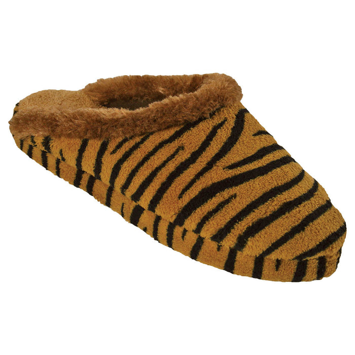 Women's Foam Slide Scuffs - Tiger