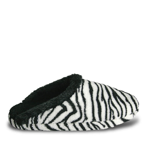 Women's Foam Slide Scuffs - Zebra