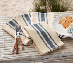 Farmhouse Grainsack Napkin Set